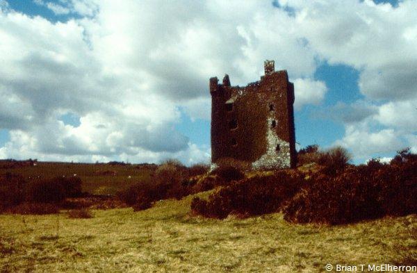 Castle machicolations