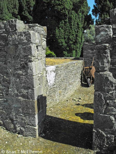 Remnants of the south doorway