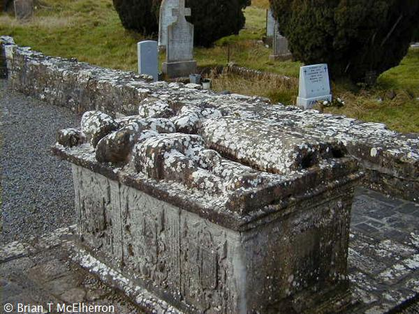 Effigy tomb at Newtown Trim