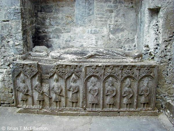 Effigy Tomb, Roscommon Abbey