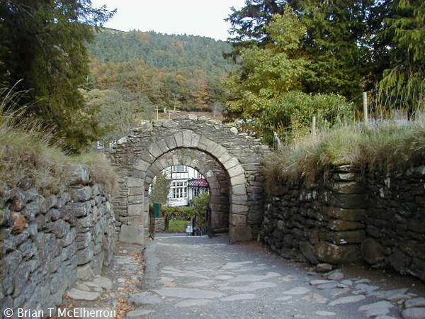 Glendalough also Watch likewise 100838479128612357 further Modern Medieval Castle Has A Forest Footbridge And Lavish Decor together with Bad Laminate Installation. on round over doorway